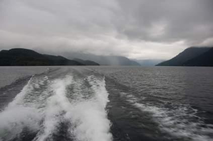 Er ist der größte See der Südinsel.